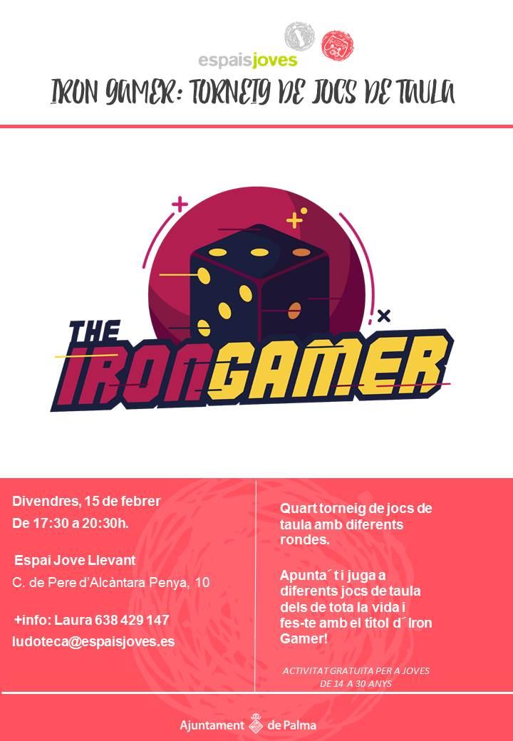 Cartell Iron gamer jpg